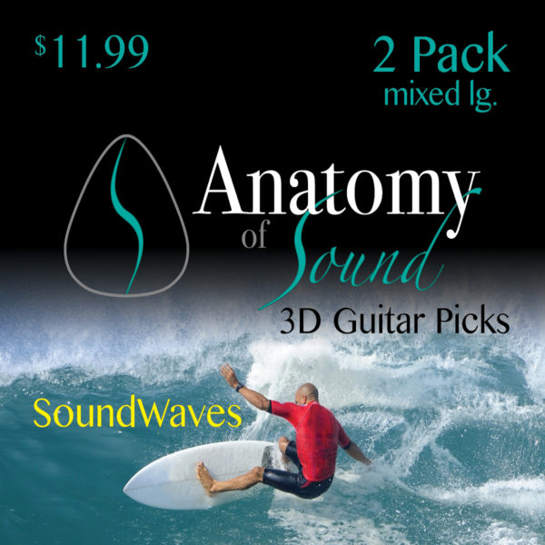 Soundwaves - 2 Pack - Mixed - Large