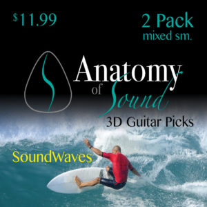 Soundwaves - 2 Pack - Mixed - Small